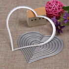 10pcs Heart Sewing thread Metal Die Cutting Dies For DIY Scrapbooking Embos