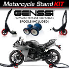 Front and Rear Pro Stand + Spools for Yamaha YZF R1 R6 R125 R6S R25 R3 600R