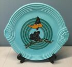 Fiesta-ware Animated Warner Brothers Platter Serving Plate Aqua Daffy Duck