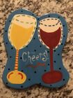 Coton Colors Happy Everything Mini Attachment Wine Toast Cheers Retired