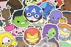 100 Cute Superhero Avengers Marvel Stickers Pack for Hyrdo Flask Laptop Suitcase