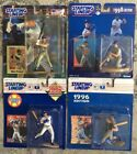 STARTING LINE-UP MIKE PIAZZA ACTION FIGURE LOT (4) 1995 EXTENDED,1996,98,2000MIP