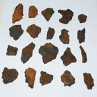 Nantan Iron Meteorite Space Rock Pieces Genuine Lot Collection