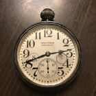 1910 8 DAY WALTHAM SIZE 37 CAR POCKET WATCH 7 JEWEL