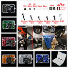 Complete Fairing Bolt Kit Screws For Honda CBR600F2 F3 F4 F4I CBR250R 300R 500RR