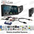 Kenwood DDX8706S Double Din Car Stereo Radio Dash Install Kit