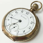 Rockford 10K Gold Mechanical Wind Up Vintage Pocket Watch 11 Jewels Size 18S