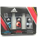 Adidas Ice Dive Team Force & Dynamic Pulse Body Fragrance 3pc Gift Set for Men
