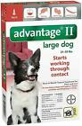 Advantage II Flea Control Large Dogs 21 55lb ONE 1 Dose READ HERE ABOUT FAKES