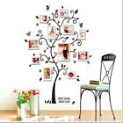Family Tree Wall Decal Sticker 3D Removable Family Photo Tree PVC Wall Sticker