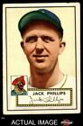 1952 Topps #240 Jack Phillips Pirates VG