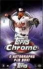 2013 Topps Chrome Baseball Factory Sealed Hobby Box