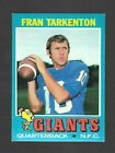 Fran Tarkenton Cards, Rookie Card and Autographed Memorabilia Guide 10