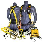 Kwiksafety Typhoon Safety Harness Ansi Fall Protection 3d Ring Back Support