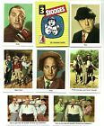 1959 Fleer Three Stooges Trading Cards 35