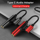 USB C Type C to 35mm Headphone Earphone Audio Jack Aux Stereo Cable Adapter