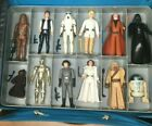 Star Wars Vintage First 12 Figures Letter Hilt Sabers NM Complete Early Bird