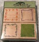 Image Tree Rubber Stamps Leaves A Lasting Impression By Susy Retto New Set Four
