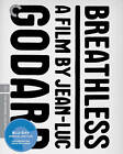 BREATHLESS Jean Luc Godard 1960 Criterion Collection Blu ray SLIPCASE LIKE NEW