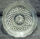 MINT ANCHOR HOCKING WEXFORD CLEAR CRYSTAL DIVIDED RELISH SERVING DISH TRAY 8-1/2