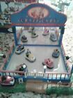 Lemax Village Carnival Crazy Cars Original Box, Adapter,  Works Great