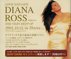 Love & Life - The Very Best Of Diana Ross Japanese CD single (CD5 / 5