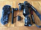 Panasonic LUMIX G9 20.3 MP Digital Camera Lecia Lens 45mm & 12-60mm , Microphone