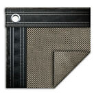 20 x 40 Rectangle In Ground Swimming Pool Mesh Winter Cover 15 Year Taupe