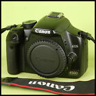 SUPER CLEAN Canon EOS 450D Digital SLR Camera + charger battery guide strap