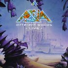 Asia - Different Worlds: Live [CD]