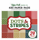Echo Park Paper DOTS AND STRIPES CHRISTMAS 6x6 paper pad