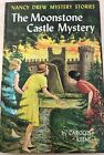 Nancy Drew FINE Mooonstone Castle FIRST EDITION Yellow Spine YS PC