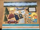 Creative Memories Done With One Travel Printed Die Cut Shapes Mounting Paper