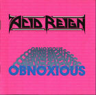Acid Reign - Obnoxious ( AUDIO CD in JEWEL CASE )  FREE SHIPPING