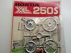 Bandai 1:12 Scale Honda XL250S Model Kit Sprue D Chrome Parts (Wheels) only New
