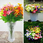 28 Heads Artificial Floral Fake Silk Daisy Flowers Bouquet Wedding Decor Supply