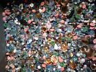 Huge Lot Of Beads Glass Stones  jems pearls jade mother of 38 pounds Hi Grade