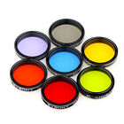 125 Eyepiece Filter Set Colored Planetary+Moon Filter Kit for Telescope hot