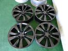 2012 TO 2016 TESLA MODEL S OEM FACTORY 19 WHEELS RIMS 85D SATIN BLACK