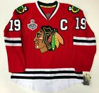 JONATHAN TOEWS CHICAGO BLACKHAWKS 2015 STANLEY CUP EDGE AUTHENTIC RBK JERSEY 50