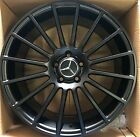 19 AMG OEM GENUINE MERCEDES BENZ WHEELS BLACK RIMS C250 C300 C350 C400 C450 C CL