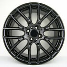 Set of 4 17 17x7 4x100 Gloss Black Wheels fit Mini cooper Clubman 2001 2013