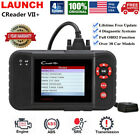 Launch Vii Auto Obd2 Scanner Code Reader Engine Abs Airbag Srs Diagnostic Tool
