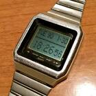 CASIO Data Bank First generation touch screen VDB-1000 digital watch square dial