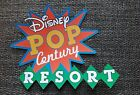 Disney pop century resort printed scrapbook page die cut