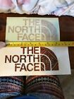New The North Face Rectangle Logo Sticker