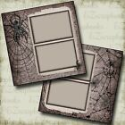 Creepy Crawly Premade Scrapbook Pages EZ Layout 4300