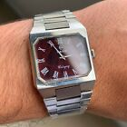 Rado Cologny Vintage Swiss Men's Watch - Burgundy