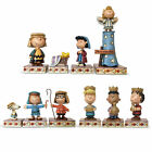 Peanuts Jim Shore Charlie Brown Christmas Nativity Set 10 Collectible Figurines