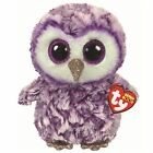 Ty Beanie Babies 36461 Boos Moonlight the Purple Owl Boo Buddy